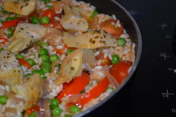 Vegetarian Paella, a revelation.
