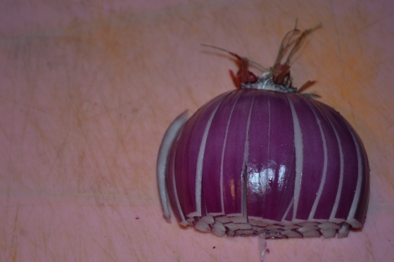 Your onion should now look beautiful, like this one.